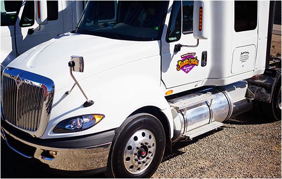 Santa Lucia's Truck
